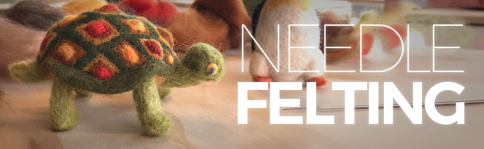 January 26 - Needle Felting Animals